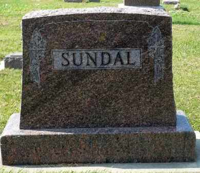 SUNDAL, FAMILY MARKER - Minnehaha County, South Dakota | FAMILY MARKER SUNDAL - South Dakota Gravestone Photos
