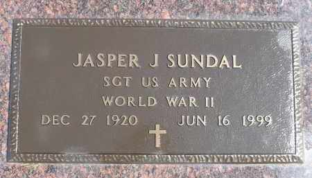 SUNDAL, JASPER J. (WWII) - Minnehaha County, South Dakota | JASPER J. (WWII) SUNDAL - South Dakota Gravestone Photos