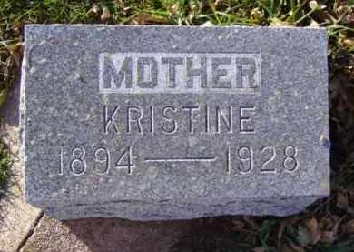SVENDSEN, KRISTINE - Minnehaha County, South Dakota   KRISTINE SVENDSEN - South Dakota Gravestone Photos