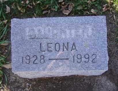 SVENDSEN, LEONA - Minnehaha County, South Dakota | LEONA SVENDSEN - South Dakota Gravestone Photos