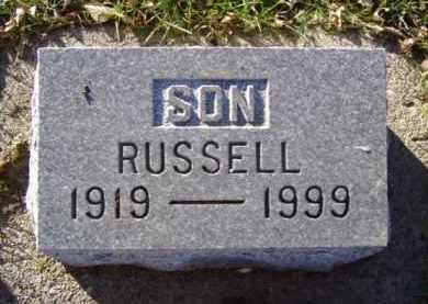 SVENDSEN, RUSSELL - Minnehaha County, South Dakota | RUSSELL SVENDSEN - South Dakota Gravestone Photos