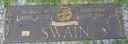 SWAIN, NOBLE W. - Minnehaha County, South Dakota | NOBLE W. SWAIN - South Dakota Gravestone Photos