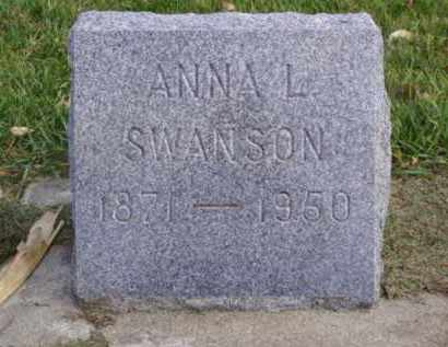 SWANSON, ANNA L. - Minnehaha County, South Dakota | ANNA L. SWANSON - South Dakota Gravestone Photos