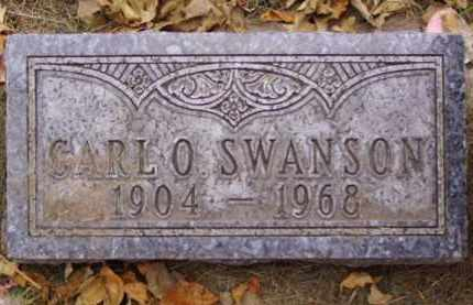 SWANSON, CARL O. - Minnehaha County, South Dakota | CARL O. SWANSON - South Dakota Gravestone Photos