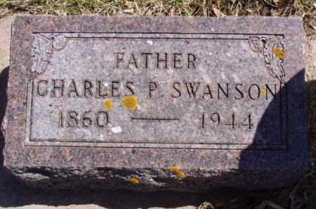 SWANSON, CHARLES PETER - Minnehaha County, South Dakota | CHARLES PETER SWANSON - South Dakota Gravestone Photos
