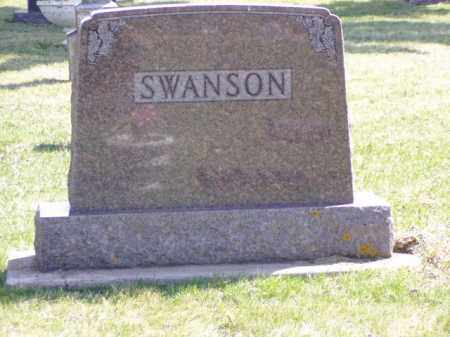 CARLSDOTTER SWANSON, ANNA - Minnehaha County, South Dakota | ANNA CARLSDOTTER SWANSON - South Dakota Gravestone Photos