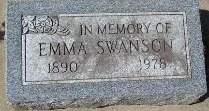 SWANSON, EMMA - Minnehaha County, South Dakota | EMMA SWANSON - South Dakota Gravestone Photos