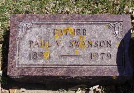 SWANSON, PAUL VICTOR - Minnehaha County, South Dakota | PAUL VICTOR SWANSON - South Dakota Gravestone Photos