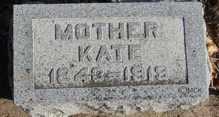 SWANTON, KATE - Minnehaha County, South Dakota | KATE SWANTON - South Dakota Gravestone Photos