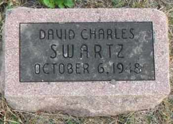 SWARTZ, DAVID CHARLES - Minnehaha County, South Dakota | DAVID CHARLES SWARTZ - South Dakota Gravestone Photos
