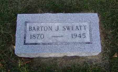 SWEATT, BARTON J. - Minnehaha County, South Dakota | BARTON J. SWEATT - South Dakota Gravestone Photos