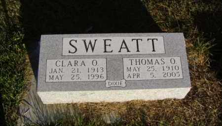 SWEATT, THOMAS O. - Minnehaha County, South Dakota | THOMAS O. SWEATT - South Dakota Gravestone Photos
