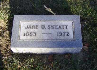 SWEATT, JANE O. - Minnehaha County, South Dakota | JANE O. SWEATT - South Dakota Gravestone Photos