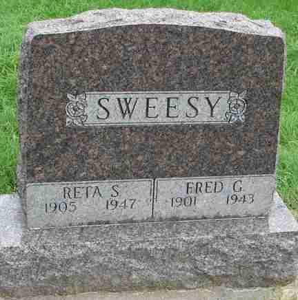 SWEESY, FRED G. - Minnehaha County, South Dakota | FRED G. SWEESY - South Dakota Gravestone Photos