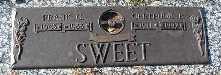 SWEET, GERTRUDE B. - Minnehaha County, South Dakota | GERTRUDE B. SWEET - South Dakota Gravestone Photos
