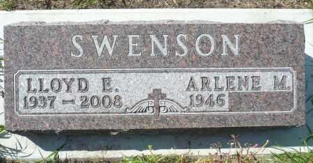 SWENSON, LLOYD E. - Minnehaha County, South Dakota | LLOYD E. SWENSON - South Dakota Gravestone Photos