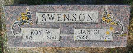 SWENSON, ROY W. - Minnehaha County, South Dakota | ROY W. SWENSON - South Dakota Gravestone Photos