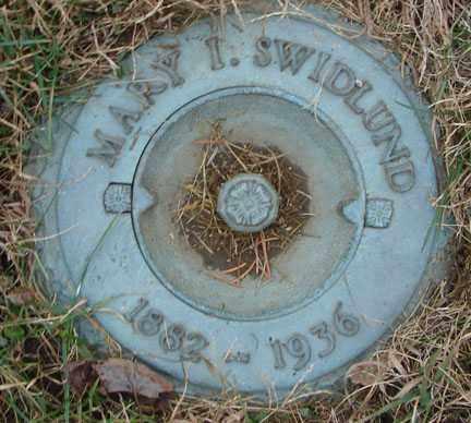 SWIDLUND, MARY I. - Minnehaha County, South Dakota | MARY I. SWIDLUND - South Dakota Gravestone Photos