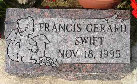 SWIFT, FRANCIS GERARD - Minnehaha County, South Dakota | FRANCIS GERARD SWIFT - South Dakota Gravestone Photos