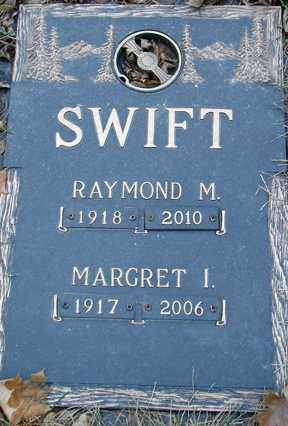 SWIFT, RAYMOND M. - Minnehaha County, South Dakota | RAYMOND M. SWIFT - South Dakota Gravestone Photos