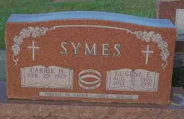 SYMES, EUGENE E. - Minnehaha County, South Dakota | EUGENE E. SYMES - South Dakota Gravestone Photos