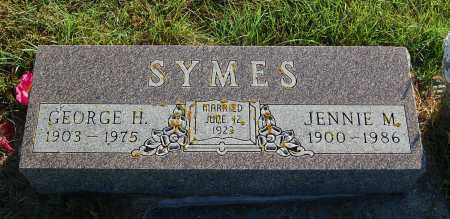 SYMES, GEORGE H. - Minnehaha County, South Dakota | GEORGE H. SYMES - South Dakota Gravestone Photos