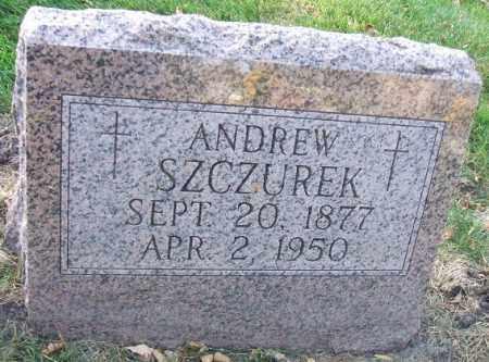SZCZUREK, ANDREW - Minnehaha County, South Dakota | ANDREW SZCZUREK - South Dakota Gravestone Photos