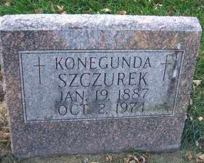 SZCZUREK, KONEGUNDA - Minnehaha County, South Dakota | KONEGUNDA SZCZUREK - South Dakota Gravestone Photos