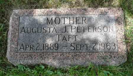 TAFT, AUGUSTA J. - Minnehaha County, South Dakota   AUGUSTA J. TAFT - South Dakota Gravestone Photos