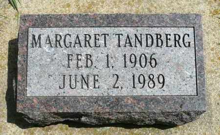 TANDBERG, MARGARET - Minnehaha County, South Dakota | MARGARET TANDBERG - South Dakota Gravestone Photos