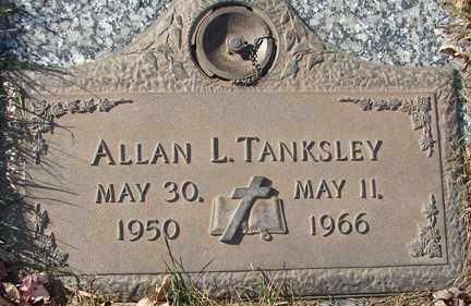 TANKSLEY, ALLAN L. - Minnehaha County, South Dakota | ALLAN L. TANKSLEY - South Dakota Gravestone Photos