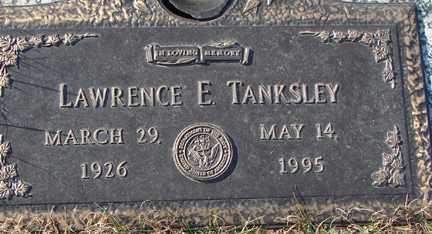 TANKSLEY, LAWRENCE E. - Minnehaha County, South Dakota | LAWRENCE E. TANKSLEY - South Dakota Gravestone Photos