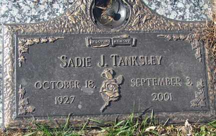 TANKSLEY, SADIE JEANNE - Minnehaha County, South Dakota | SADIE JEANNE TANKSLEY - South Dakota Gravestone Photos