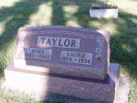 TAYLOR, LAURIE - Minnehaha County, South Dakota | LAURIE TAYLOR - South Dakota Gravestone Photos
