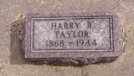 TAYLOR, HARRY B. - Minnehaha County, South Dakota | HARRY B. TAYLOR - South Dakota Gravestone Photos