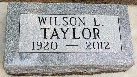 TAYLOR, WILSON L. - Minnehaha County, South Dakota | WILSON L. TAYLOR - South Dakota Gravestone Photos