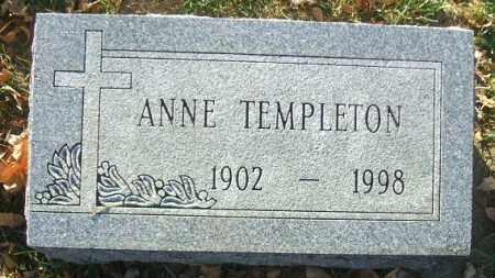 TEMPLETON, ANNE - Minnehaha County, South Dakota | ANNE TEMPLETON - South Dakota Gravestone Photos