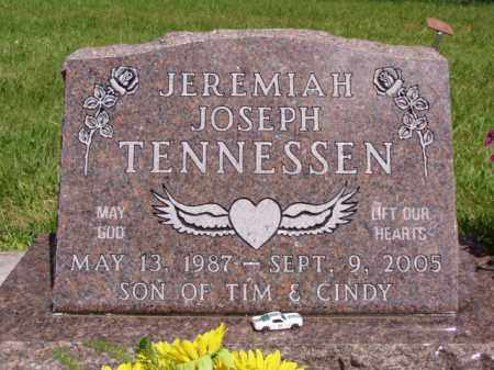 "TENNESSEN, JEREMIAH ""JAY"" JOSEPH - Minnehaha County, South Dakota 