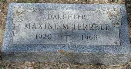TERRELL, MAXINE M. - Minnehaha County, South Dakota | MAXINE M. TERRELL - South Dakota Gravestone Photos