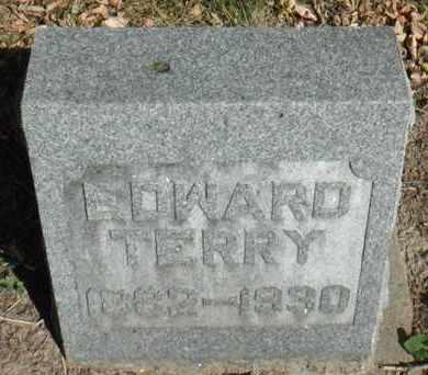 TERRY, EDWARD - Minnehaha County, South Dakota | EDWARD TERRY - South Dakota Gravestone Photos