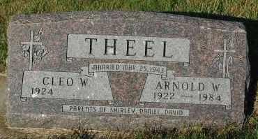 THEEL, ARNOLD W. - Minnehaha County, South Dakota | ARNOLD W. THEEL - South Dakota Gravestone Photos