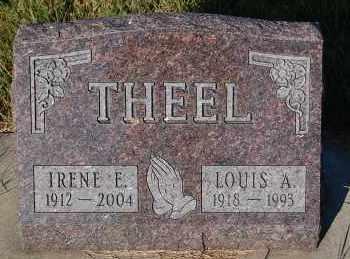 THEEL, LOUIS A. - Minnehaha County, South Dakota | LOUIS A. THEEL - South Dakota Gravestone Photos