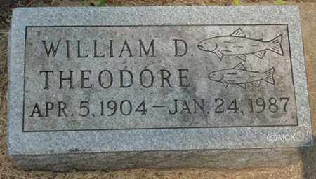 THEODORE, WILLIAM D. - Minnehaha County, South Dakota | WILLIAM D. THEODORE - South Dakota Gravestone Photos