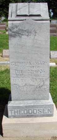 THEODOSEN, MARY MABEL - Minnehaha County, South Dakota | MARY MABEL THEODOSEN - South Dakota Gravestone Photos
