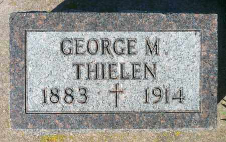 THIELEN, GEORGE M. - Minnehaha County, South Dakota   GEORGE M. THIELEN - South Dakota Gravestone Photos