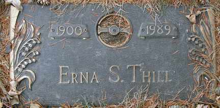 THILL, ERNA S. - Minnehaha County, South Dakota | ERNA S. THILL - South Dakota Gravestone Photos