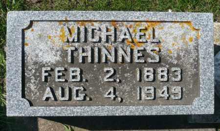 THINNES, MICHAEL - Minnehaha County, South Dakota   MICHAEL THINNES - South Dakota Gravestone Photos