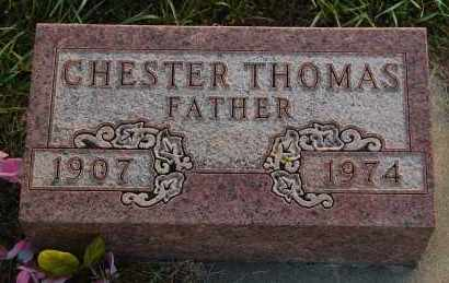 THOMAS, CHESTER - Minnehaha County, South Dakota | CHESTER THOMAS - South Dakota Gravestone Photos