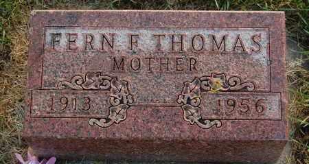 THOMAS, FERN F. - Minnehaha County, South Dakota | FERN F. THOMAS - South Dakota Gravestone Photos