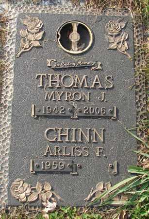 CHINN, ARLISS - Minnehaha County, South Dakota | ARLISS CHINN - South Dakota Gravestone Photos